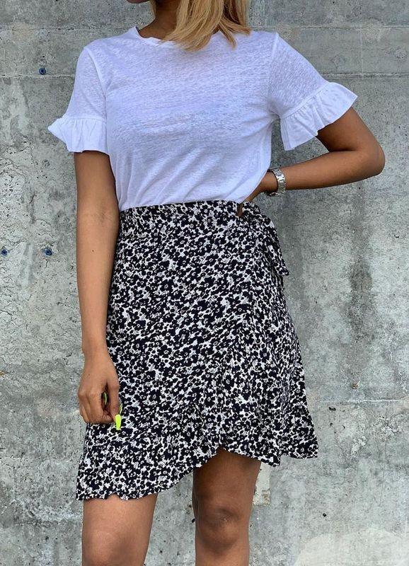 MISSMAYA Ines Skirt Blue Seed | SoStyle