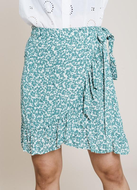 MISSMAYA Ines Skirt Green Seed | SoStyle