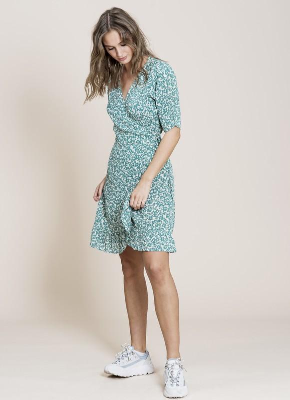 MISSMAYA Irina Dress Green Seed | SoStyle