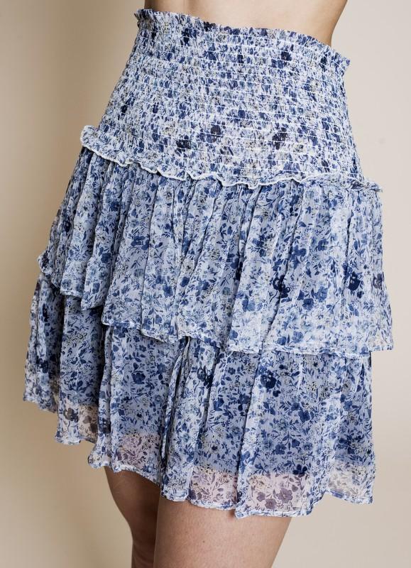 MISSMAYA Vera Skirt Blue Spring | SoStyle