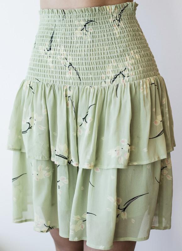 MISSMAYA Vera Skirt Pale Green | SoStyle