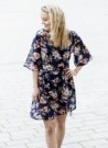 MISSMAYA Mina Short Dress Blue flower thumbnail