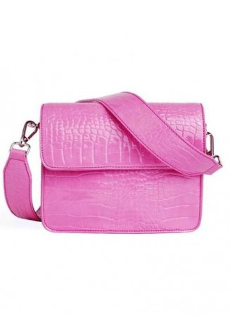 HVISK Cayman Shiny Strap Bag Pink