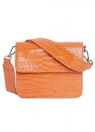 HVISK Cayman Shiny Strap Bag Pastel Orange