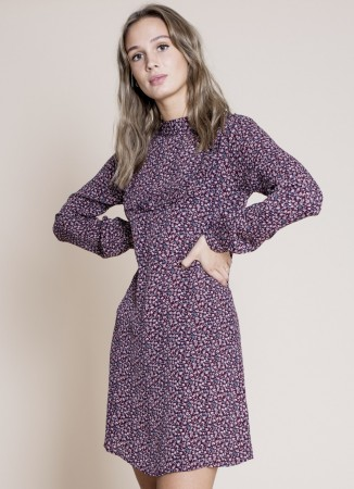 MISSMAYA Crystal Dress Plum