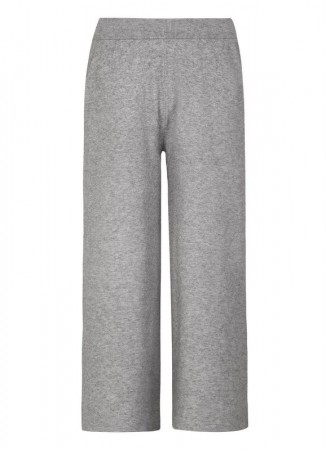 SOFT REBELS Edel Knit Pant Light Grey