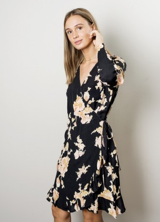 MISSMAYA Saina Wrap-Dress Rose Garden