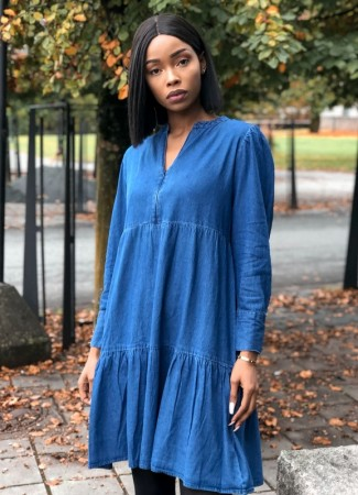 MISSMAYA Brooke Dress Denim