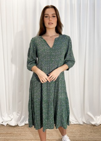 MISSMAYA Sofie Midi Dress Sea Green