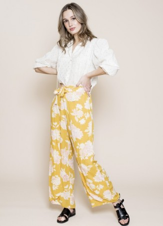 MISSMAYA Sarika Pants Yellow Breeze