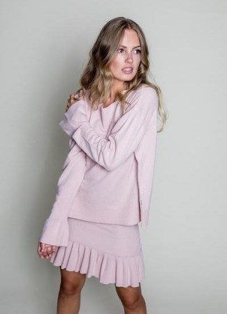 ELLA&IL Tiril Summerwool Sweater Pink