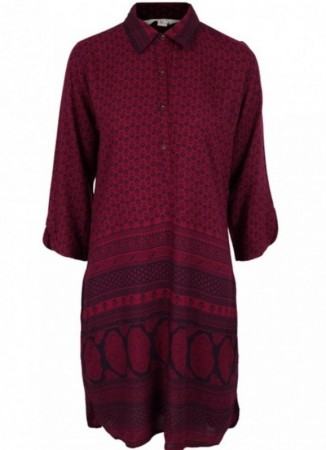MISSMAYA Aisha Dress Burgundy