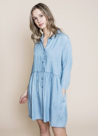MISSMAYA Danette Dress Denim