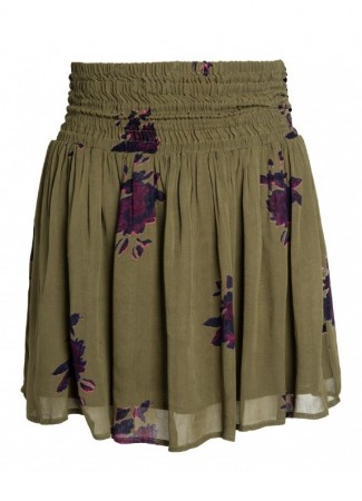 MISSMAYA Mira Skirt Army Flower
