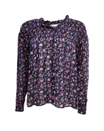 MISSMAYA Sara Blouse Purple Flower