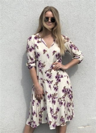 MISSMAYA Sofie Midi Dress Purple Blossom