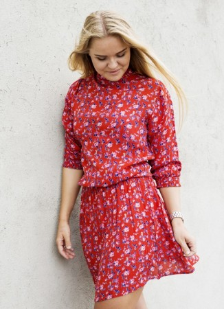 MISSMAYA Jenny Dress Red Flower