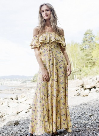 MISSMAYA Juliette Maxi Dress Sunny Dream