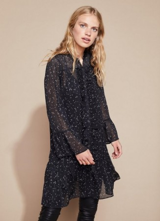 SOFT REBELS Lone Dress Black