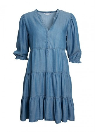 MISSMAYA Lucy Dress Soft Denim