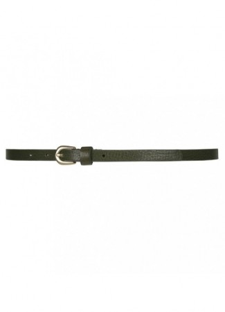DEPECHE Narrow Belt army green