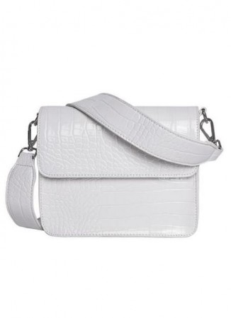 HVISK Cayman Shiny Strap Bag White