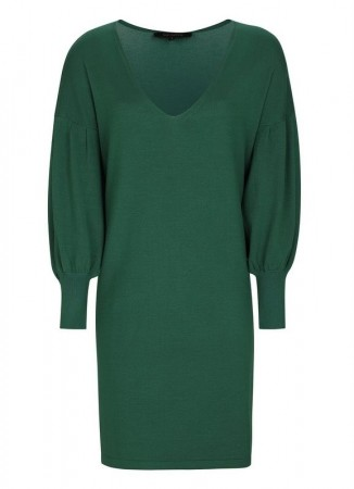 SOFT REBELS - Ebba Knit Dress Evergreen