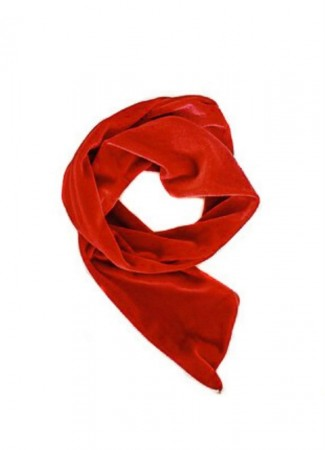NOMA Headband Velour Wire Red