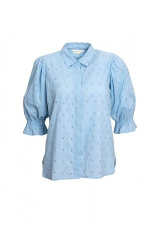 MISSMAYA Amy Shirt Powder Blue