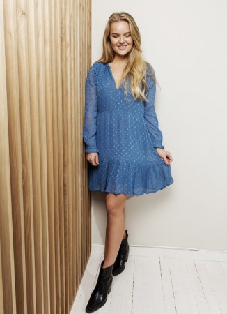 MISSMAYA Eleanor Dress Marlin Blue