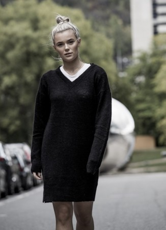 MISSMAYA Sofia Knit Black