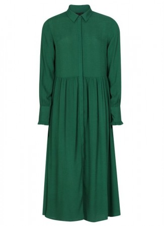 SOFT REBELS Thilde Dress Evergreen