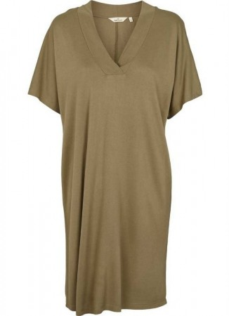 Basic Apparel Kate Dress Covert Green
