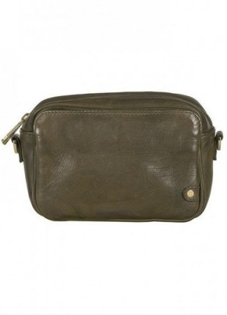 DEPECHE Small Bag/Clutch army green