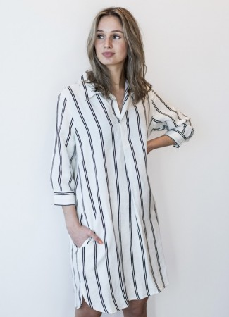 MISSMAYA Anna Dress Stripe
