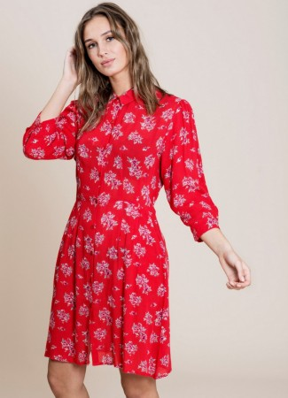 MISSMAYA Loreen Dress Vintage Red