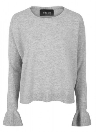 ELLA&IL Tiril Summerwool Sweater Grey