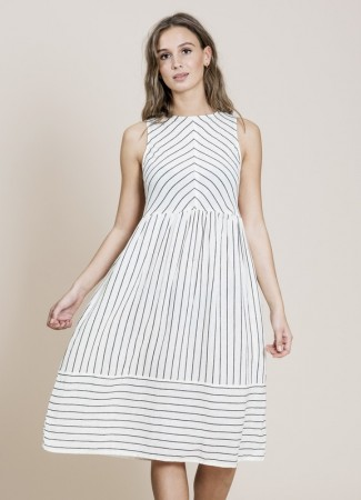 MISSMAYA Hazel Dress Stripe