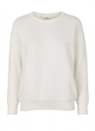 BASIC APPAREL Vicca Sweater Off White