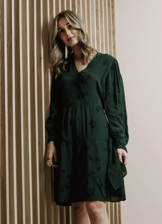 MISSMAYA Julia Dress Lily Green