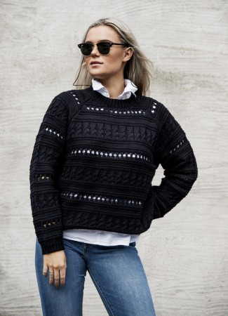 MISSMAYA Vicky Sweater Black