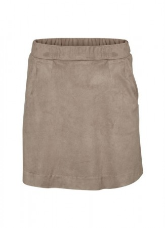 BASIC APPAREL Haly Skirt Light Grey Mel
