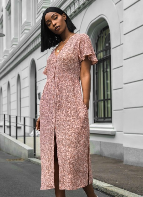 Pink Elena Ruby Star Topp  MISSMAYA  Bluser